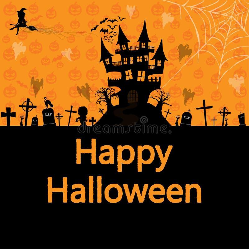 Happy Halloween background , vector illustration vector illustration
