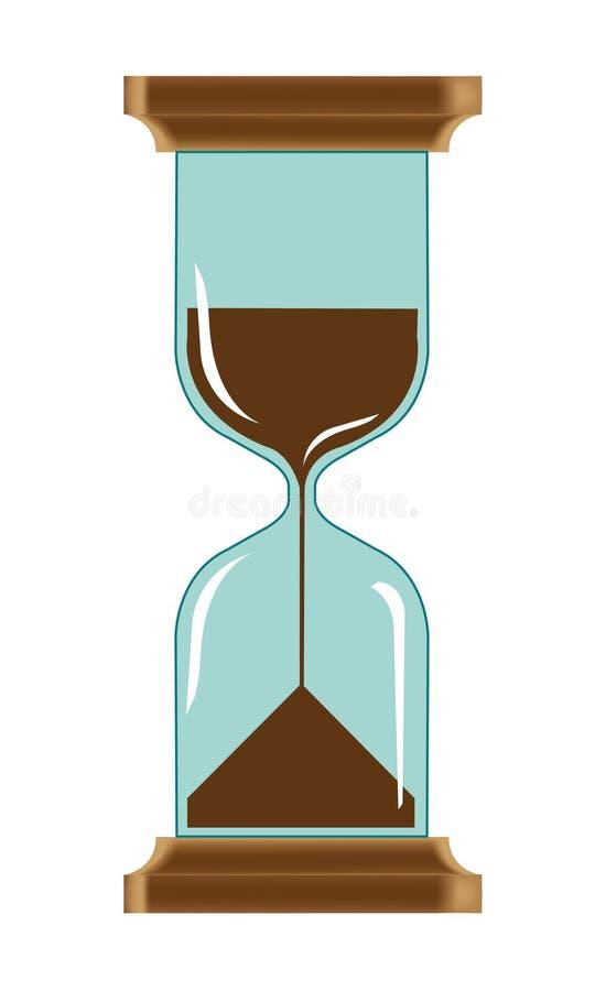 Download Vector Illustration Of Hourglass Stock Vector - Image: 13450204