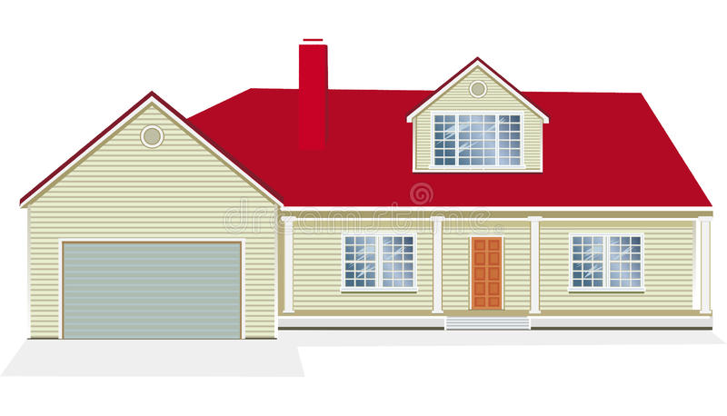 Download Vector Illustration Of House Stock Vector - Image: 10182569