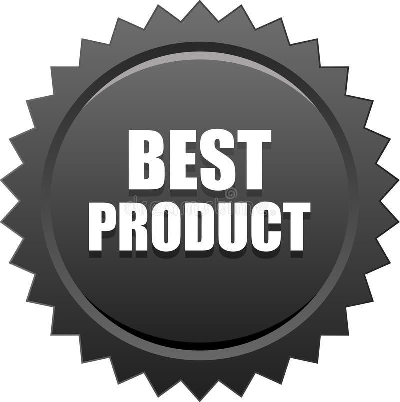 Best product seal stamp badge black stock illustration