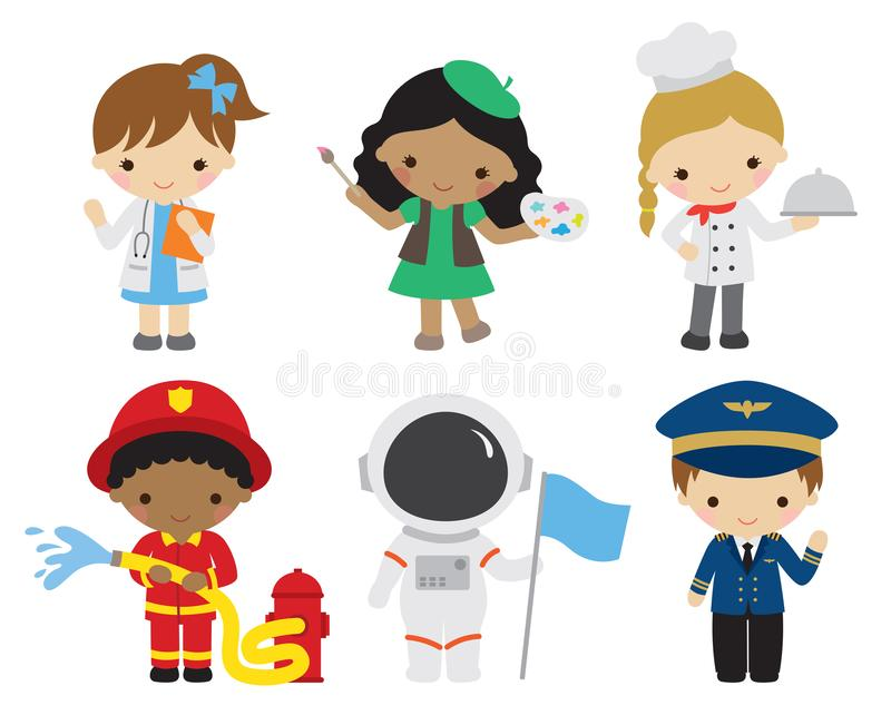 Kids Careers Stock Illustrations 30 Kids Careers Stock Illustrations Vectors Clipart Dreamstime