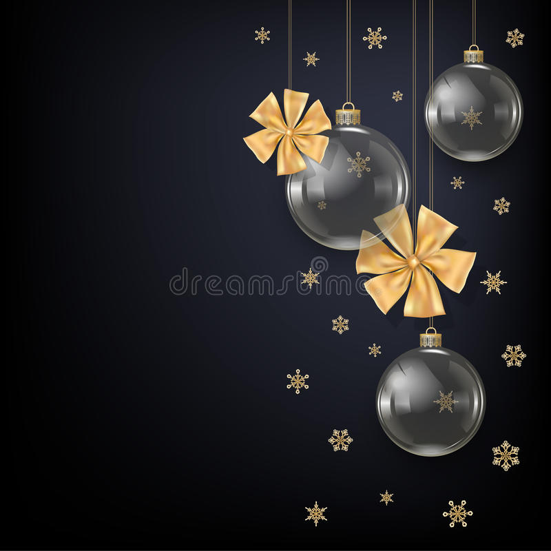 Vector illustration for Merry Christmas and NY royalty free illustration