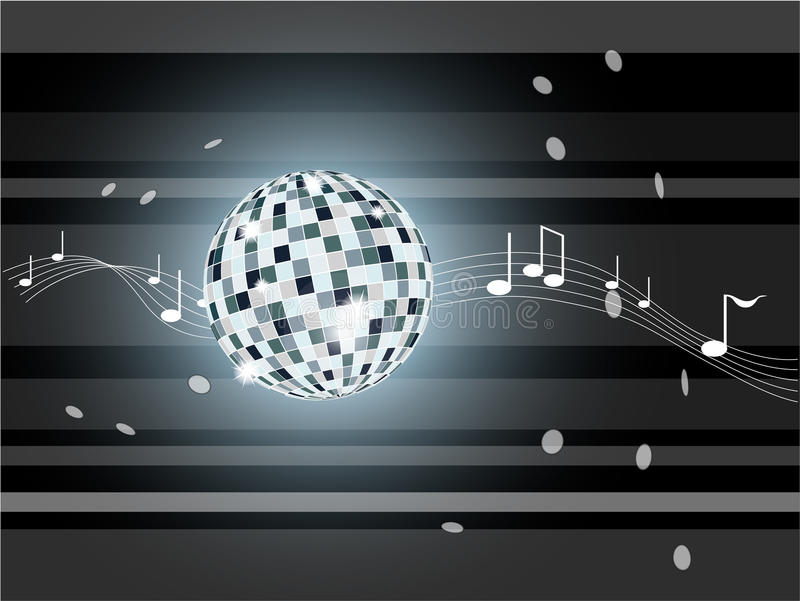 Download Vector Illustration With Mirror Ball. Stock Vector - Image: 28827698