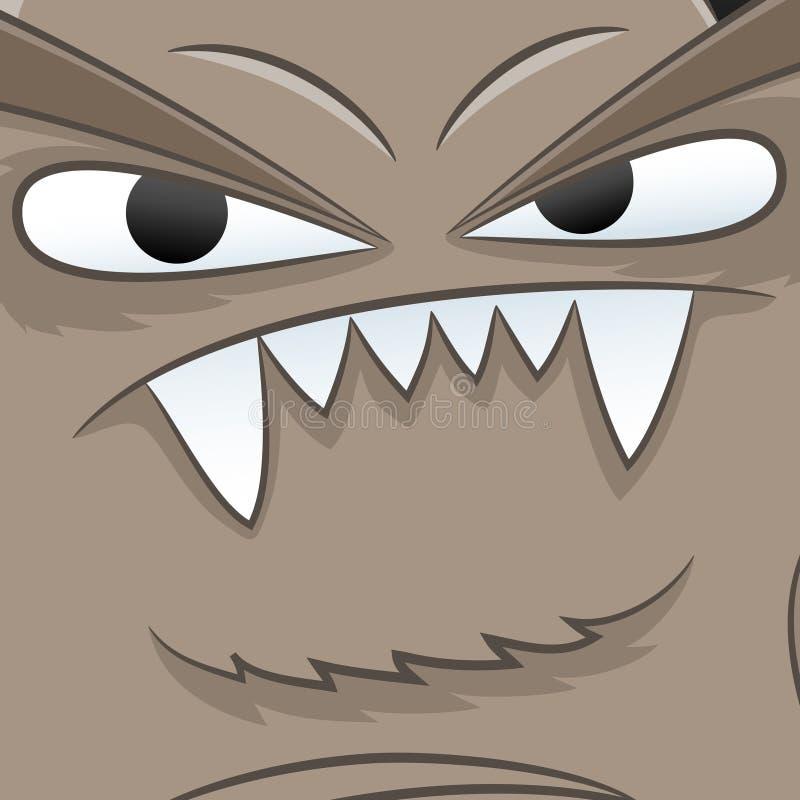 Vector illustration. Monster. vector illustration