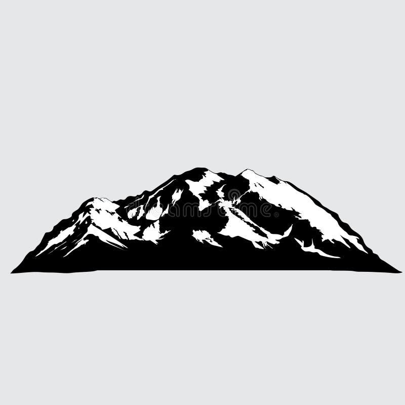 Vector illustration of mountain royalty free illustration