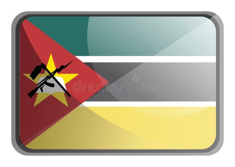 Vector illustration of Mozambique flag vector illustration