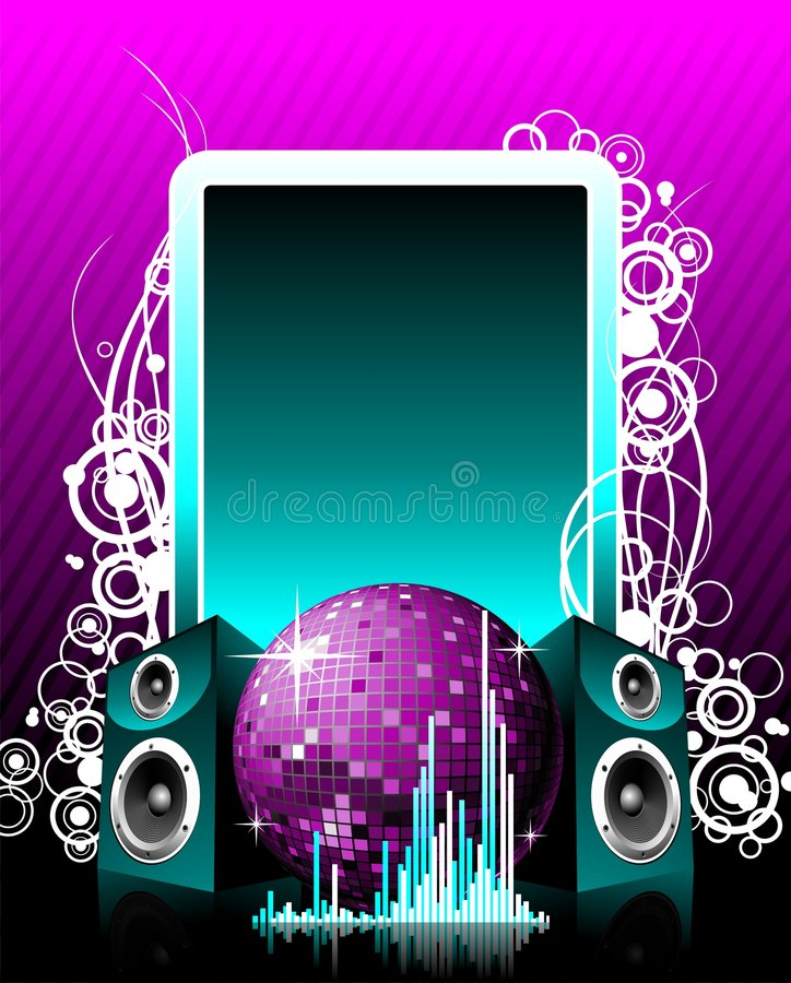 Vector illustration for musical theme vector illustration