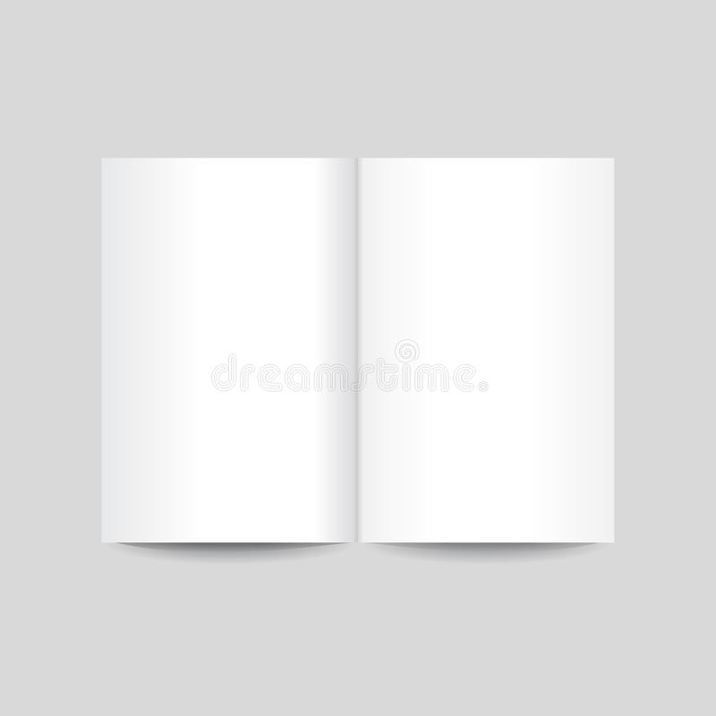 Vector illustration of note sheets on grey background vector illustration