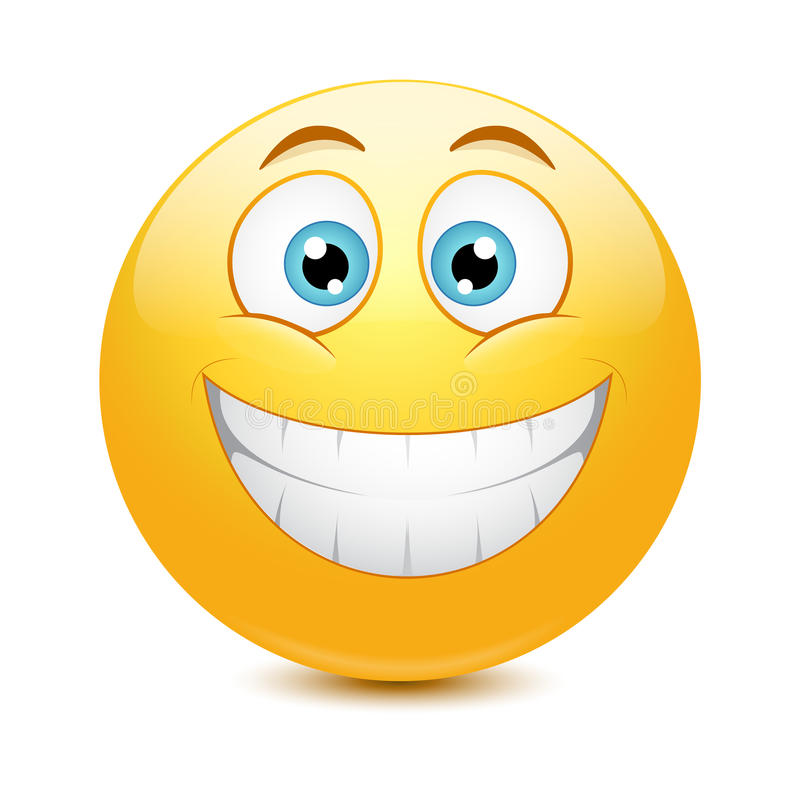 Free Vector Illustration Of Cool Glossy Emoticon Royalty Free Stock Photography - 37845127