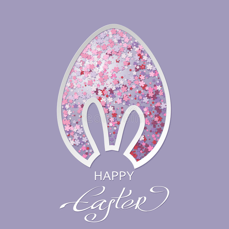 Free Vector Illustration Of Happy Easter Greeting Card Stock Photo - 67252790