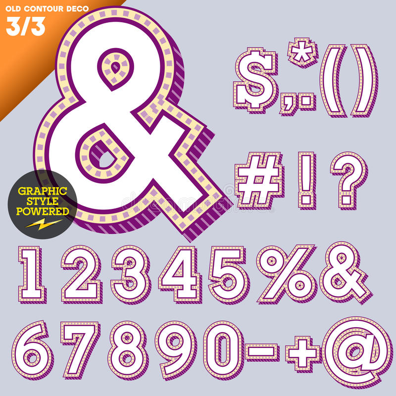 Download Vector Illustration Of An Old Fashioned Alphabet Stock Vector - Image: 33184588