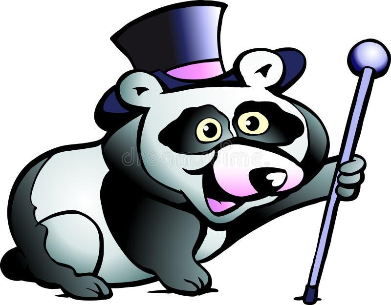 Download Vector Illustration Of An Panda Bear Stock Vector - Illustration: 20860534