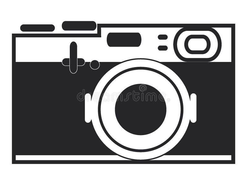 Photo camera icon. Vector illustration of the Photo camera icon royalty free illustration