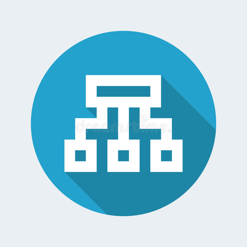 Pixel computer icon. Vector illustration of pixel computer icon vector illustration