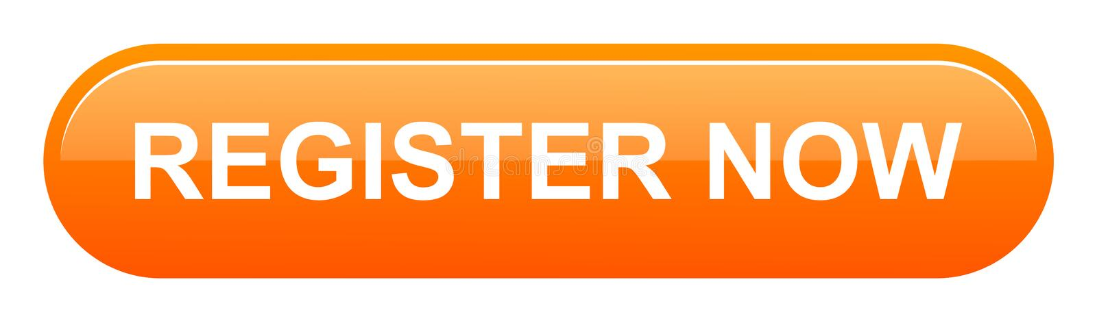 Register now button vector illustration