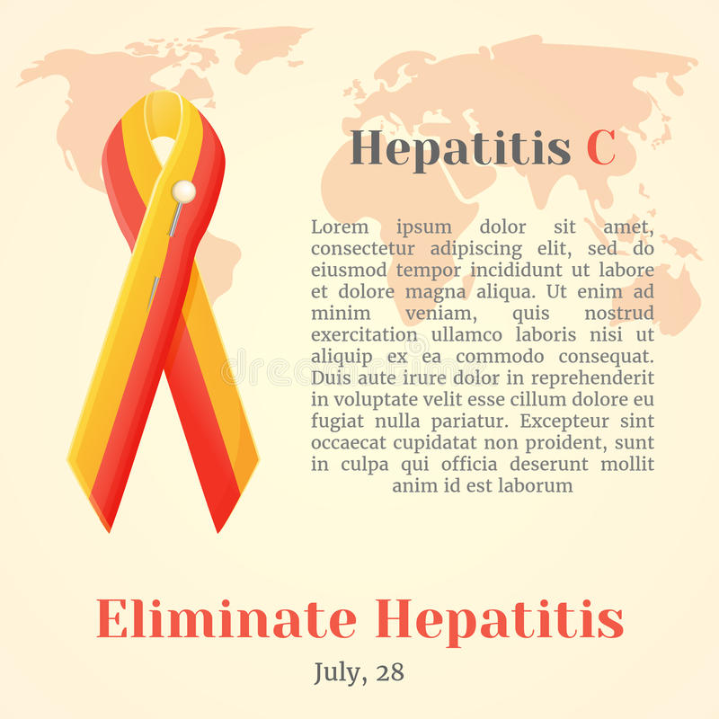 World hepatitis day colorful awareness ribbons isolated over download world hepatitis day colorful awareness ribbons isolated over world map in cartoon style gumiabroncs Image collections