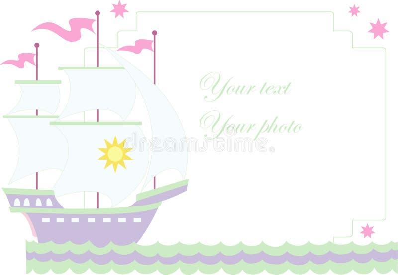 Download Vector Illustration Of Sailboat Stock Vector - Illustration of decoration, decorative: 10083217