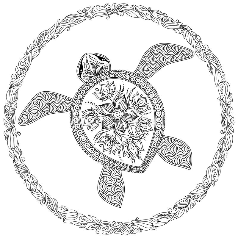 PERSONALIZED TURTLE COLORING Page Instantly Download and   Etsy   800x800