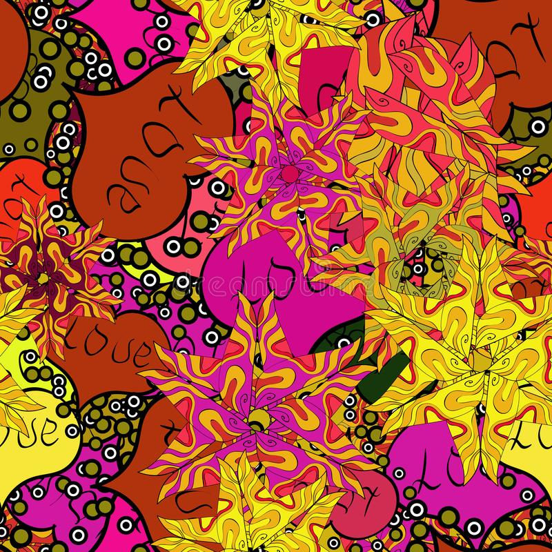 Abstract colors picture vector illustration