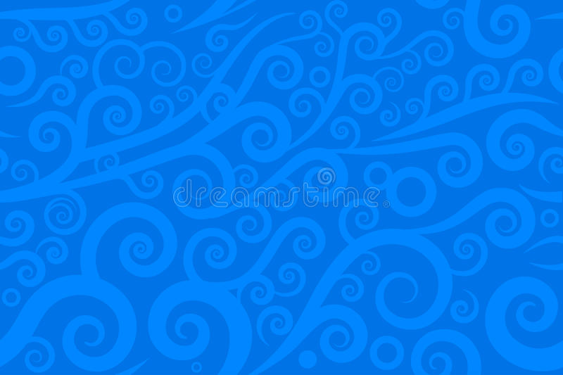 Download Seamless swirl stock vector. Image of activity, blue - 29754397