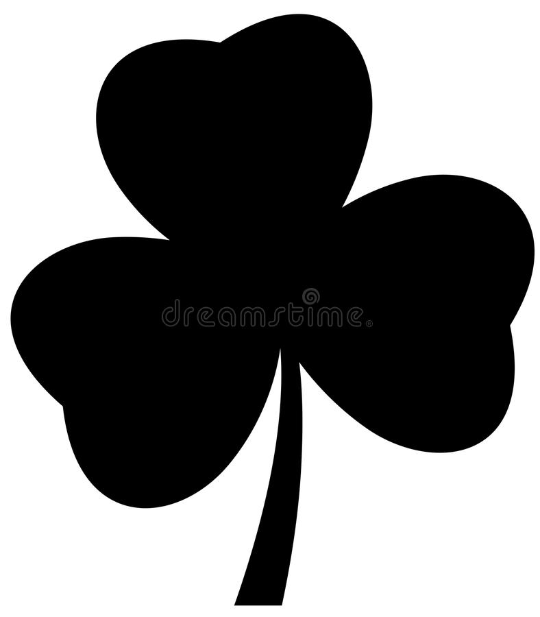 vector shamrock icon isolated on white background stock vector rh dreamstime com shamrock vector art shamrock vector art