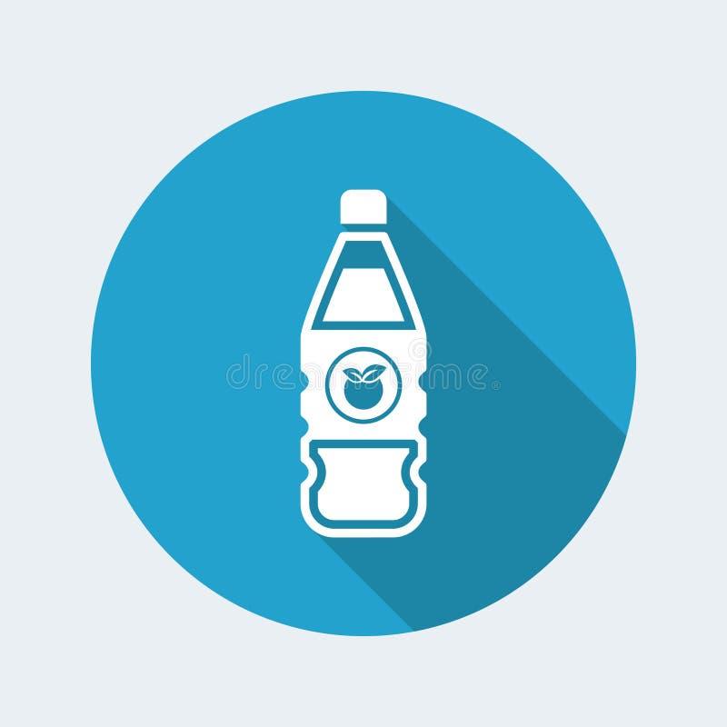 Apple juice icon royalty free illustration