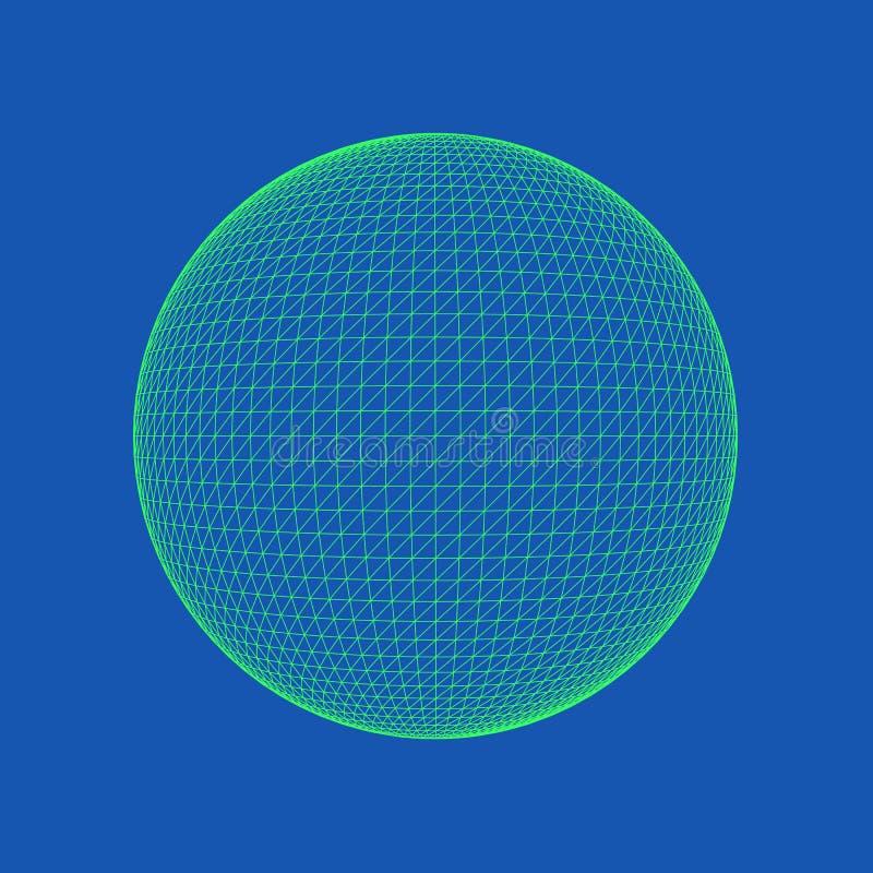Sphere Vector Illustration stock illustration
