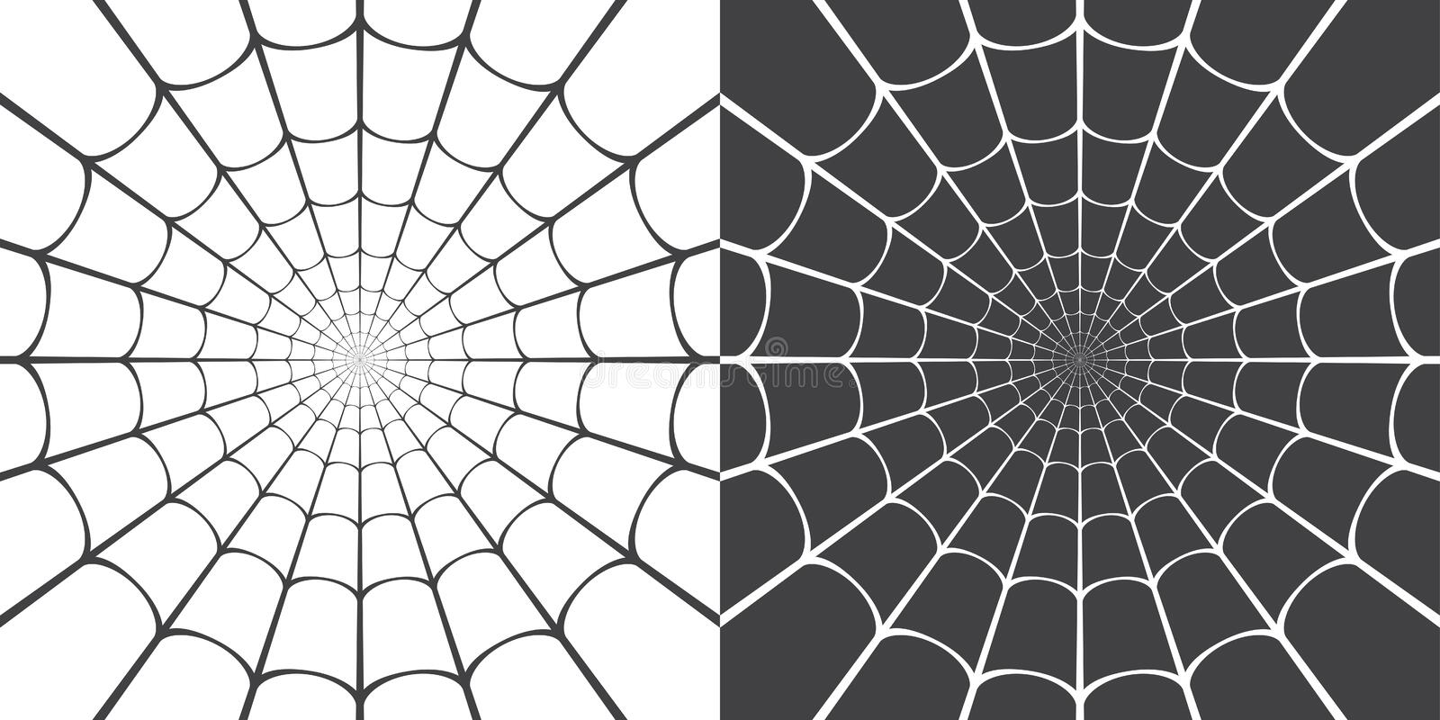 Vector illustration of spider web. For background, promotion, sale, template, banner, flayer, poster and other royalty free illustration