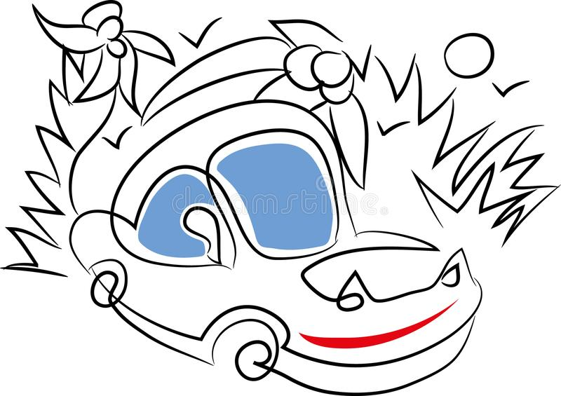 Download Sport car vector stock illustration. Illustration of exclusive - 115907773