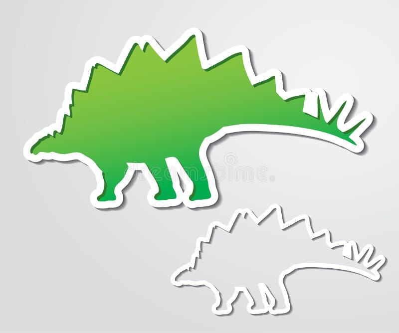 Download Stegosaurus banner stock vector. Illustration of template - 30278582