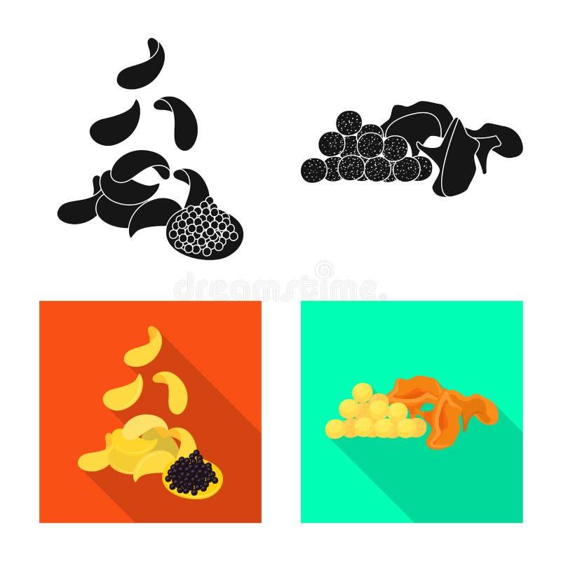 Vector illustration of taste and seasonin icon. Collection of taste and organic stock vector illustration. Isolated object of taste and seasonin symbol. Set of stock illustration