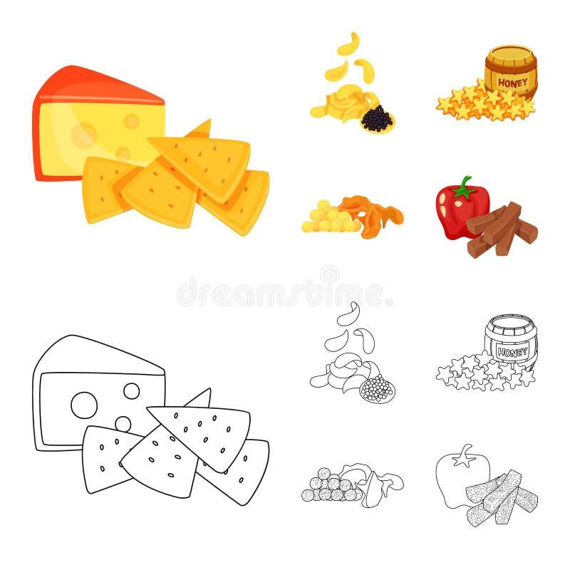 Vector illustration of taste and seasonin icon. Collection of taste and organic stock vector illustration. Isolated object of taste and seasonin symbol. Set of royalty free illustration