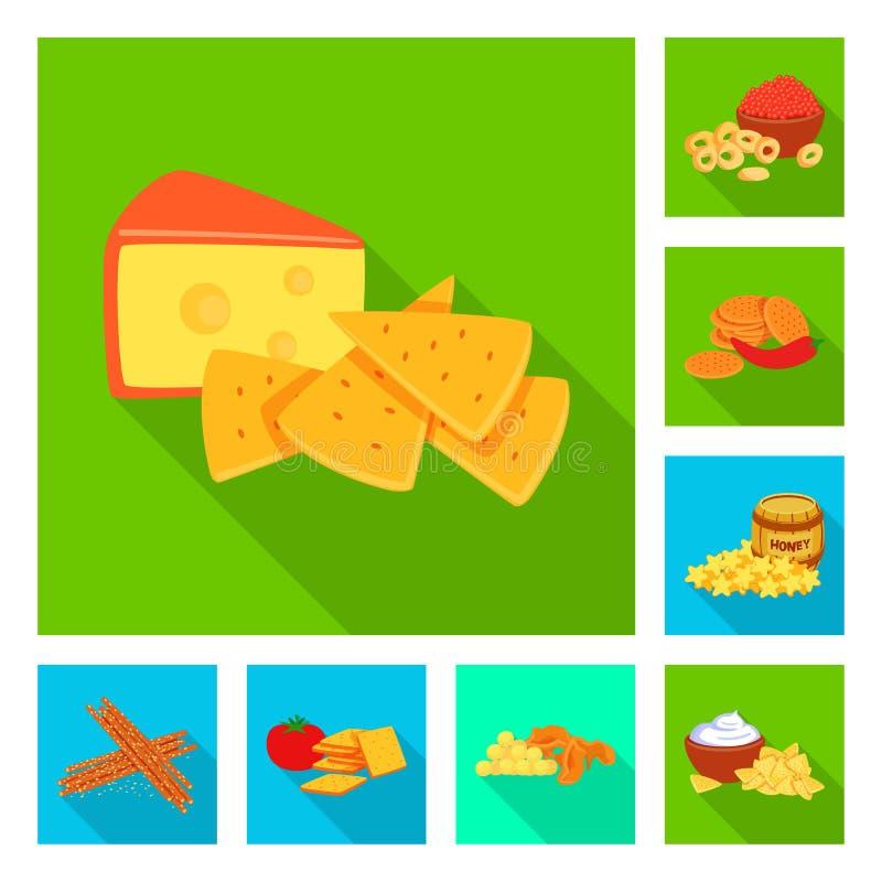 Vector illustration of taste and seasonin icon. Set of taste and organic   stock vector illustration. Isolated object of taste and seasonin symbol. Collection vector illustration