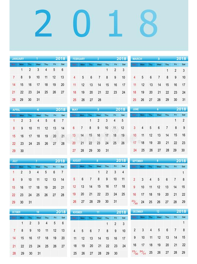 Calendar Stock Vector Illustration Of Plain Calendar - Public relations calendar template