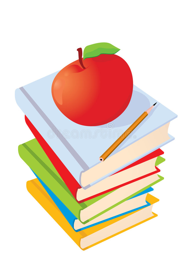 Free Vector Illustration. The Books Royalty Free Stock Image - 3057656