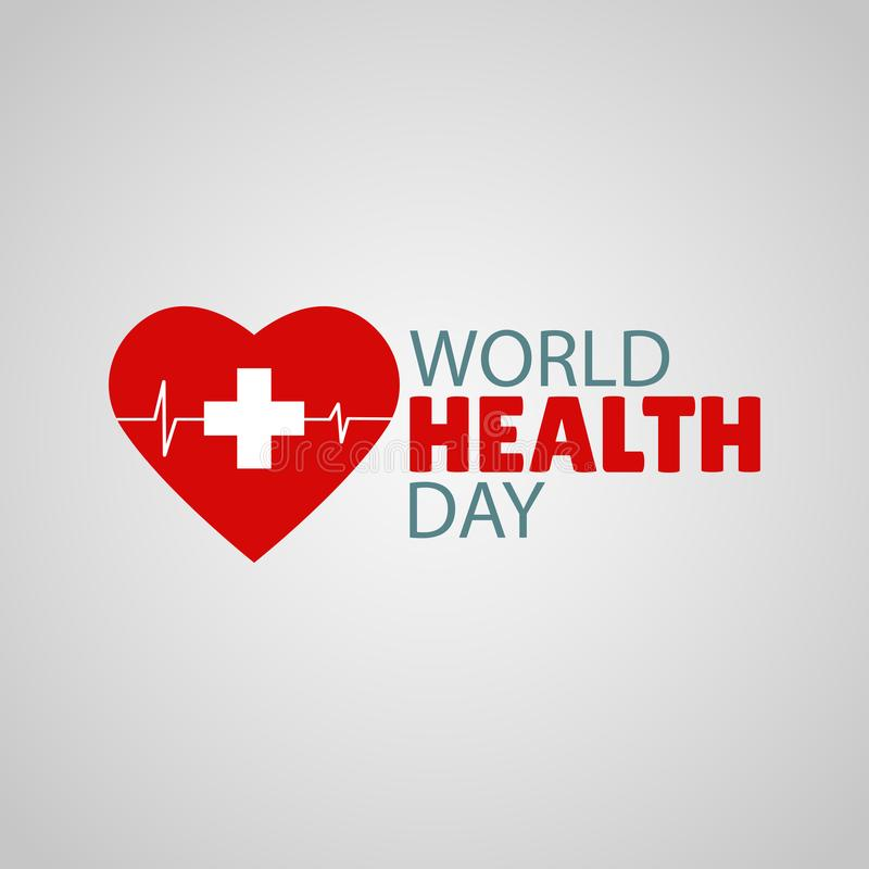 World Health Day. Vector Illustration on the theme World Health Day royalty free illustration