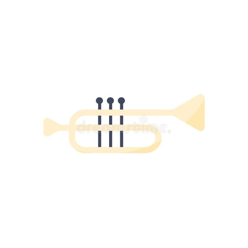 Vector Illustration. Trumpet icon vector illustration