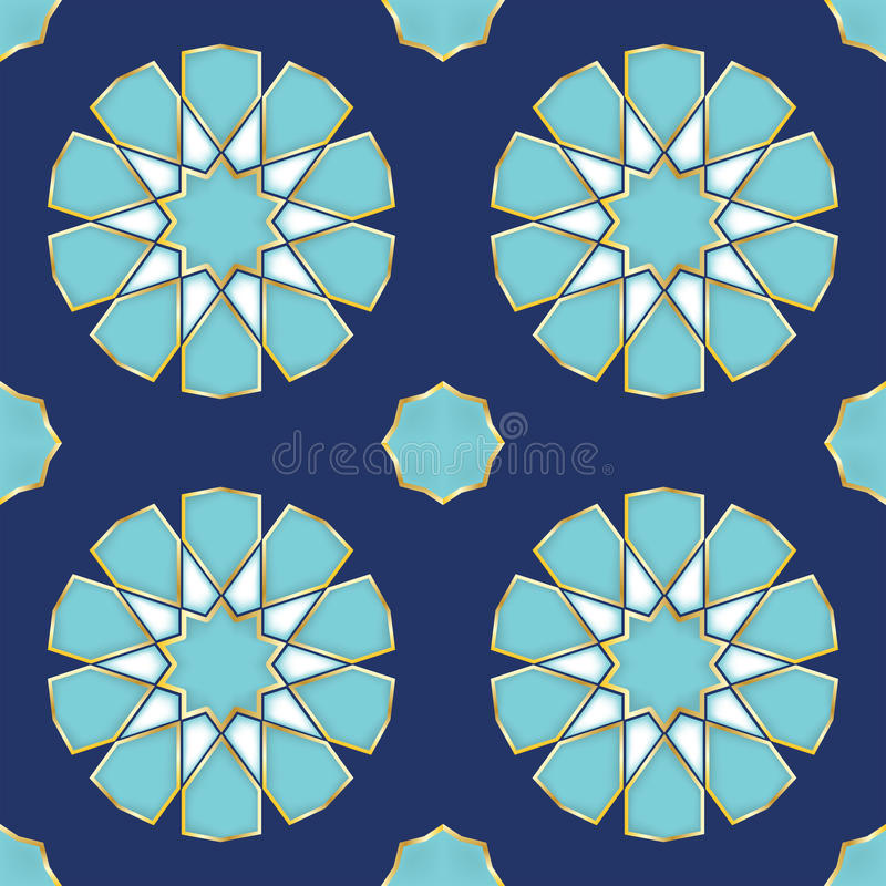 Download Vector Illustration Of A Turkish Tile Stock Vector - Image: 37050136