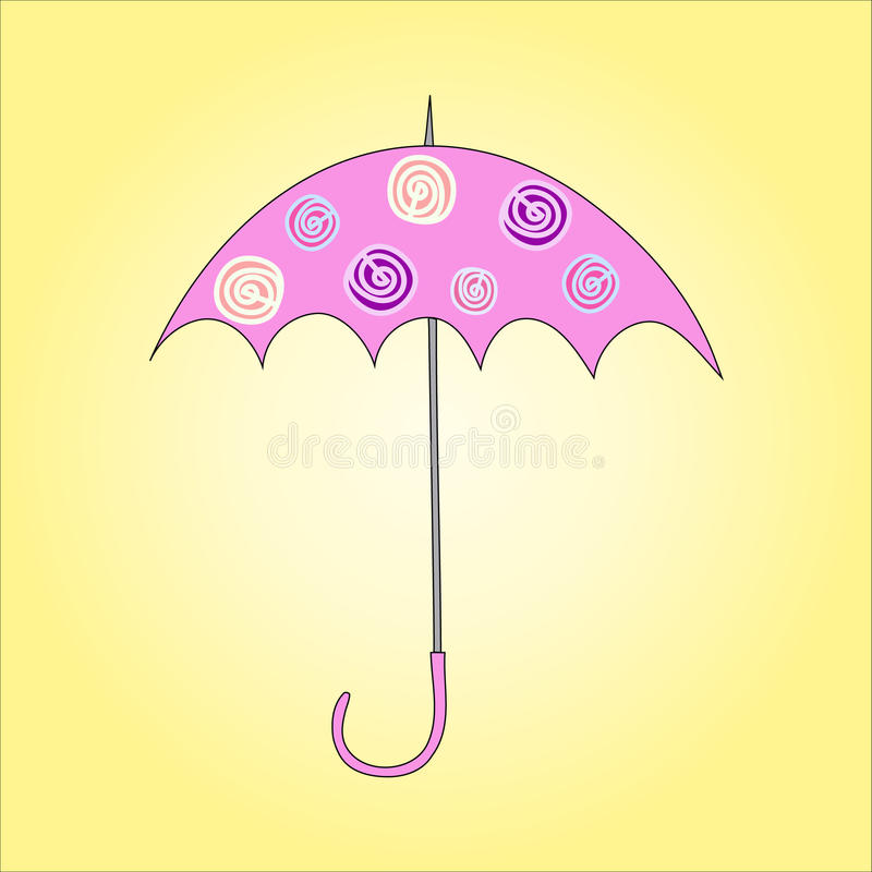 Download Vector Illustration Of Umbrella Stock Vector - Image: 42297592