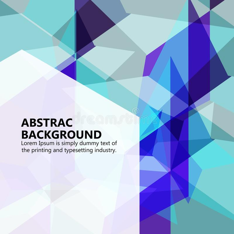 The vector illustration & x22;Vector abstract background. royalty free stock image