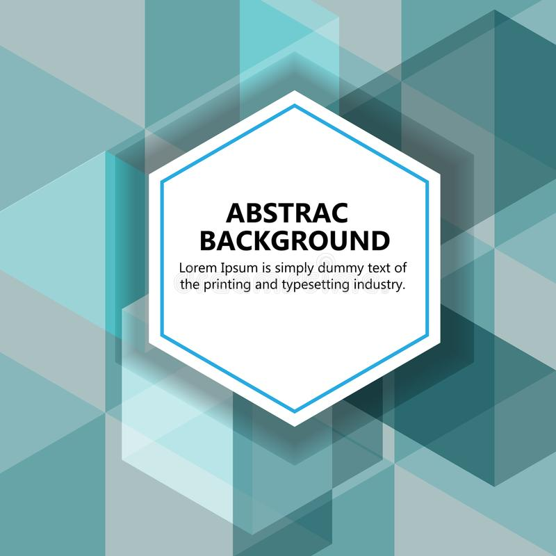 The vector illustration & x22;Vector abstract background. stock image