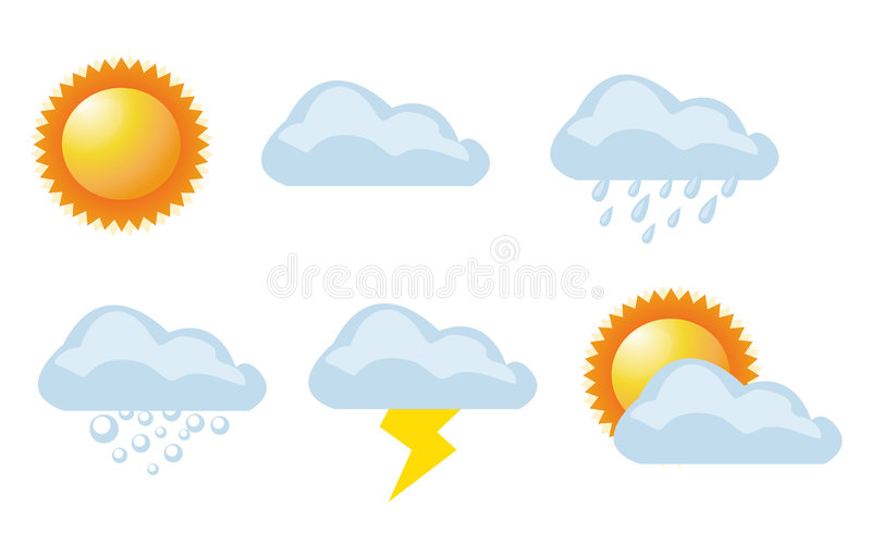 Download Vector Illustration Of Weather Stock Vector - Image: 5651639