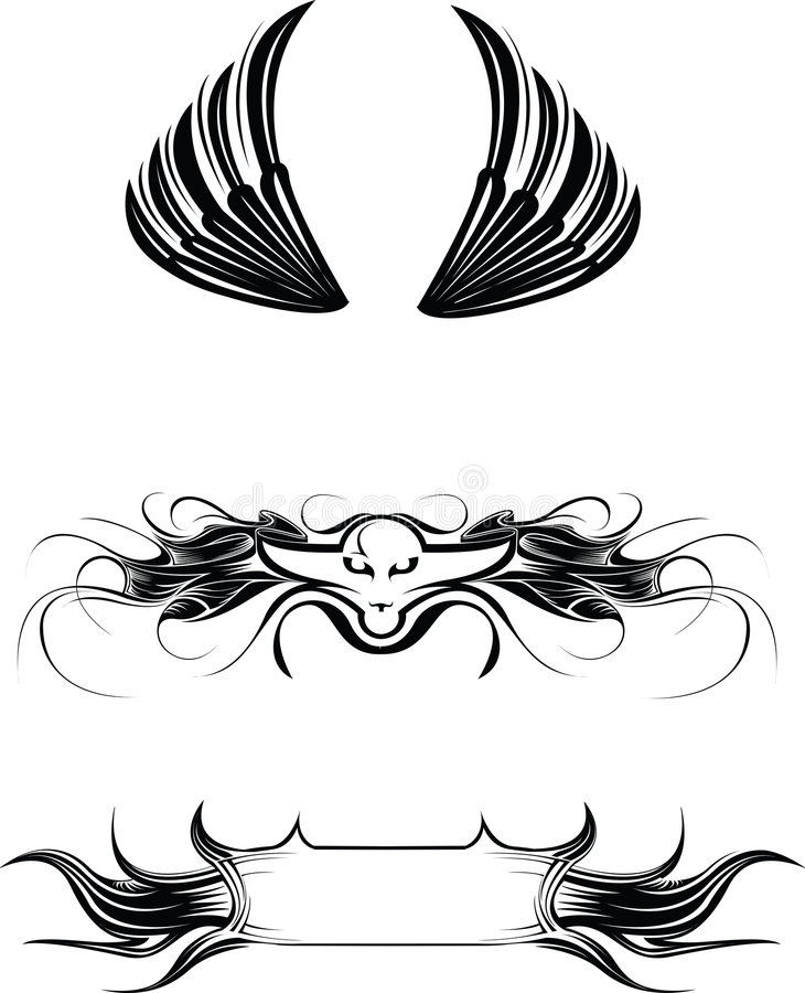 Vector Illustrations Royalty Free Stock Images
