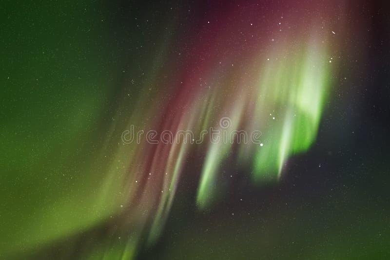 Vector a ilustração com o céu e aurora boreal estrelados bonitos ilustração royalty free