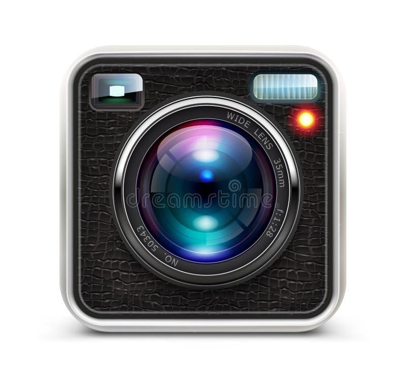 Câmera da foto ilustração do vetor