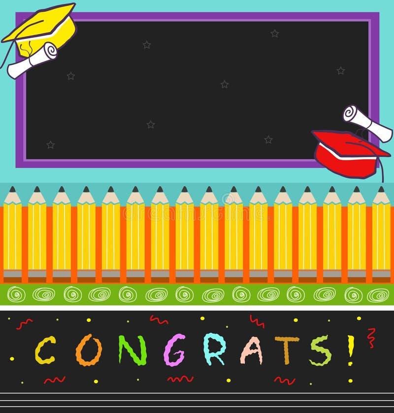 Congrats ilustração stock