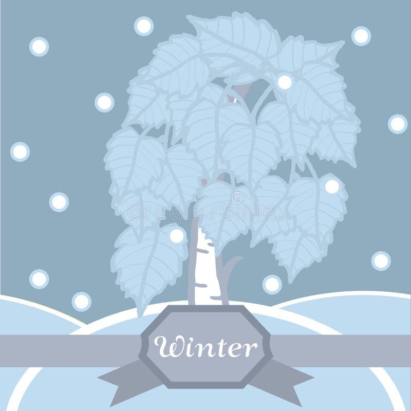 Download Vidoeiro Do Inverno No Hoarfrost. Teste Padrão Sem Emenda. Foto de Stock - Imagem de snowfall, quadro: 29844610