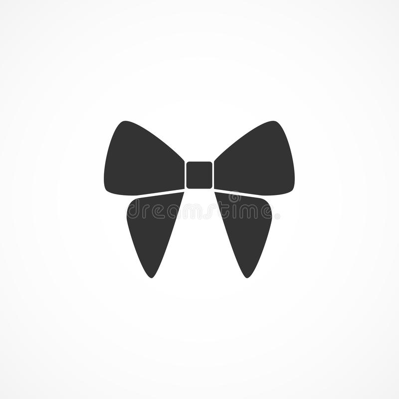 Vector image bow icon. Vector image of bow icon vector illustration