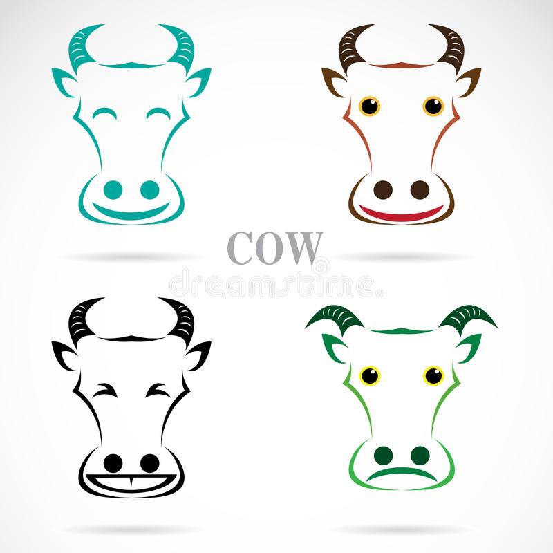 Download Vector Image Of An Cow Face Stock Vector - Image: 31425364