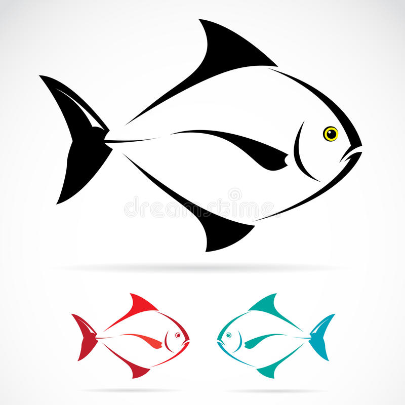 Vector image of an fish vector illustration